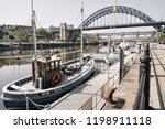 newcastle upon tyne  england ... | Shutterstock . vector #1198911118