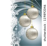 christmas background. abstract... | Shutterstock .eps vector #119892046