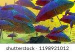 2d illustration. human standing ... | Shutterstock . vector #1198921012