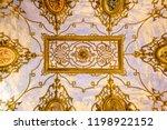 Pattern On Ceiling Inside Villa ...