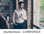 lifestyle concept. handsome... | Shutterstock . vector #1198929325