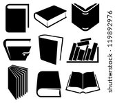 Book Icons And Signs Set
