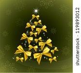 christmas background. vector... | Shutterstock .eps vector #119893012