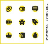 user icons set with...