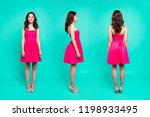 3 in 1 collage full length ... | Shutterstock . vector #1198933495