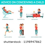 advice on conceiving a child....   Shutterstock .eps vector #1198947862