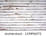 grungy white aged panel natural ... | Shutterstock . vector #119896072