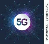 5g logo network wireless...   Shutterstock .eps vector #1198962142