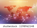 geometric graphic background... | Shutterstock .eps vector #1198962148