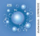 hyaluronic acid filler...   Shutterstock .eps vector #1198982332