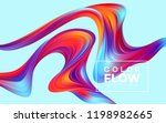 modern colorful flow poster.... | Shutterstock .eps vector #1198982665