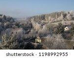 morning winter kiss in eastern... | Shutterstock . vector #1198992955