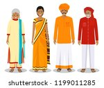 family and social concept.... | Shutterstock .eps vector #1199011285