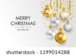 merry christmas and happy new... | Shutterstock .eps vector #1199014288