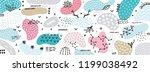 vector abstract creative... | Shutterstock .eps vector #1199038492