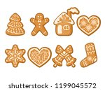 set of vector illustration of... | Shutterstock .eps vector #1199045572