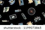 texture  seamless pattern of... | Shutterstock .eps vector #1199073865