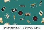 texture  seamless pattern of... | Shutterstock .eps vector #1199074348