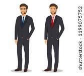 men's business style   Shutterstock .eps vector #1199075752