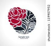 rose | Shutterstock .eps vector #119907952