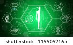abstract background technology... | Shutterstock .eps vector #1199092165