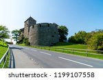 beautiful architecture at vaduz ... | Shutterstock . vector #1199107558