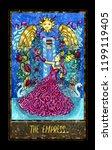 empress. major arcana tarot... | Shutterstock . vector #1199119405