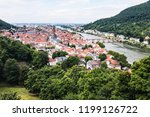 landscape of heidelberg schloss   Shutterstock . vector #1199126722