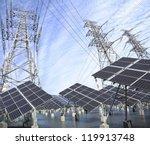 power plant using renewable... | Shutterstock . vector #119913748