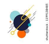 abstract modern background...   Shutterstock .eps vector #1199138485