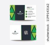 clean flat design green... | Shutterstock .eps vector #1199143162