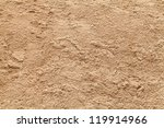 sand texture from sand pile | Shutterstock . vector #119914966