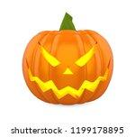 jack o lantern halloween... | Shutterstock . vector #1199178895