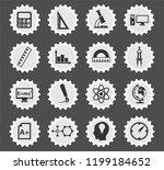 university vector icons for web ...   Shutterstock .eps vector #1199184652