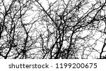 background bare tree branches.... | Shutterstock .eps vector #1199200675