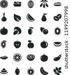 solid black flat icon set onion ...   Shutterstock .eps vector #1199207998