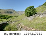 crinkle crags at head of... | Shutterstock . vector #1199217382