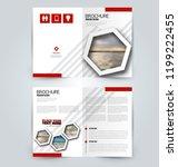 abstract flyer design... | Shutterstock .eps vector #1199222455