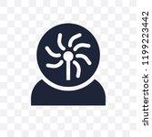 plasma ball transparent icon....   Shutterstock .eps vector #1199223442
