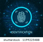 identification poster... | Shutterstock .eps vector #1199225488