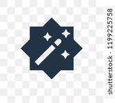 magic wand vector icon isolated ... | Shutterstock .eps vector #1199225758