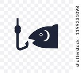 fish and hook transparent icon. ...   Shutterstock .eps vector #1199231098
