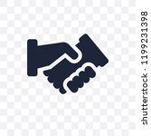 partnership transparent icon.... | Shutterstock .eps vector #1199231398