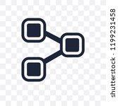 procedure transparent icon....   Shutterstock .eps vector #1199231458
