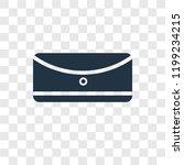 rectangular vector icon... | Shutterstock .eps vector #1199234215