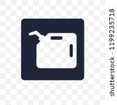 gasoline sign transparent icon. ... | Shutterstock .eps vector #1199235718