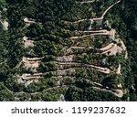 montenegro. serpentine. climb...   Shutterstock . vector #1199237632