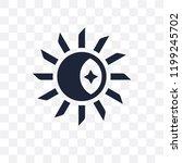 daytime transparent icon.... | Shutterstock .eps vector #1199245702