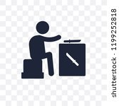 knife making transparent icon.... | Shutterstock .eps vector #1199252818