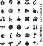 solid black flat icon set cross ... | Shutterstock .eps vector #1199253535